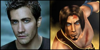 Jake Gyllenhaal and the Prince of Persia