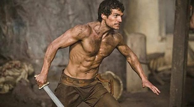 Henry Cavill in 'Immortals'