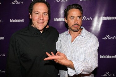 Friends and co-workers Favreau and Downey discuss future projects