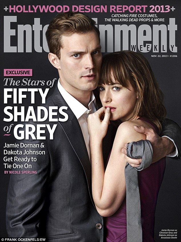 Jamie Dornan and Dakota Johnson as Christian Grey and Anastasia Steele
