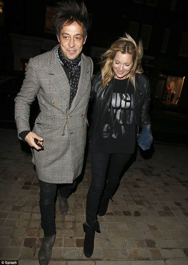 Jamie Hince and Kate Moss
