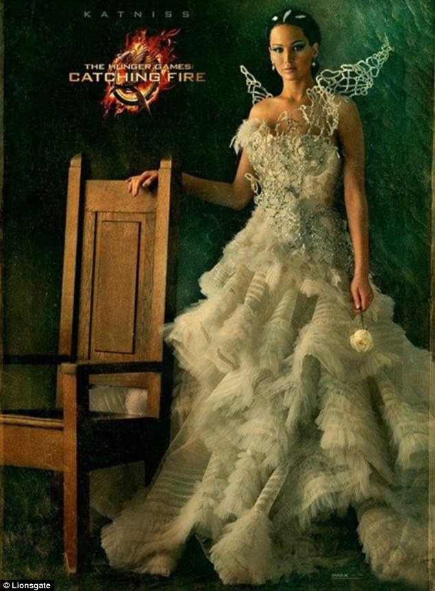 Jennifer Lawrence as Katniss Everdeen in 'Catching Fire'