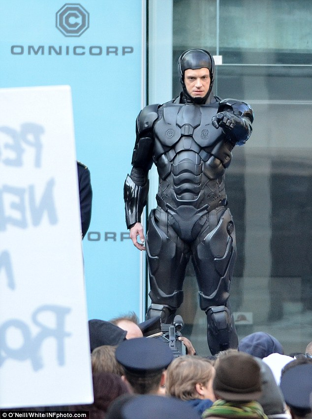 Joel Kinnaman as RoboCop