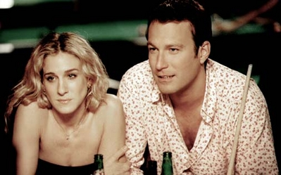 John Corbett and Sarah Jessica Parker in Sex and the City