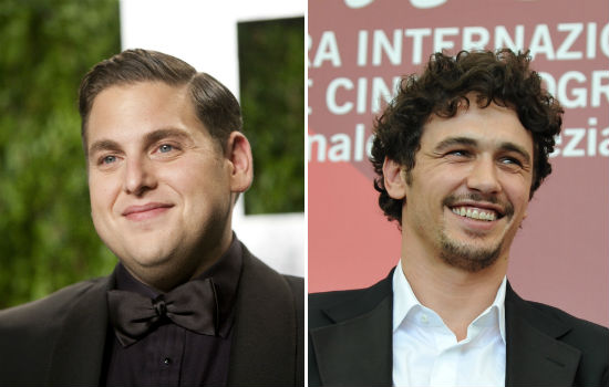 Jonah Hill and James Franco