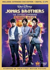 Jonas Brothers 3D Concert Experience DVD