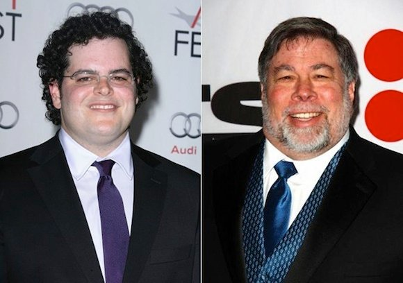 Josh Gad and Steve Wozniak
