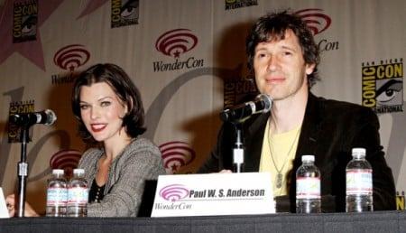 Milla Jovovich and Paul W.S. Anderson