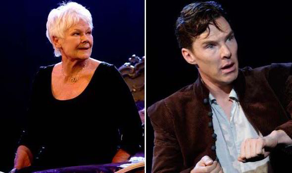 Judi Dench and Benedict Cumberbatch