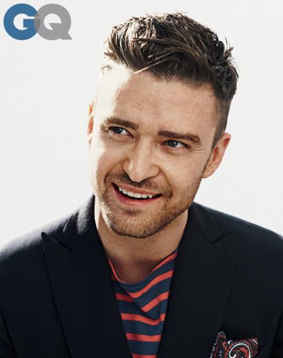 Justin Timberlake in 'GQ'