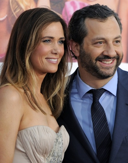 Kristen Wiig and Judd Apatow