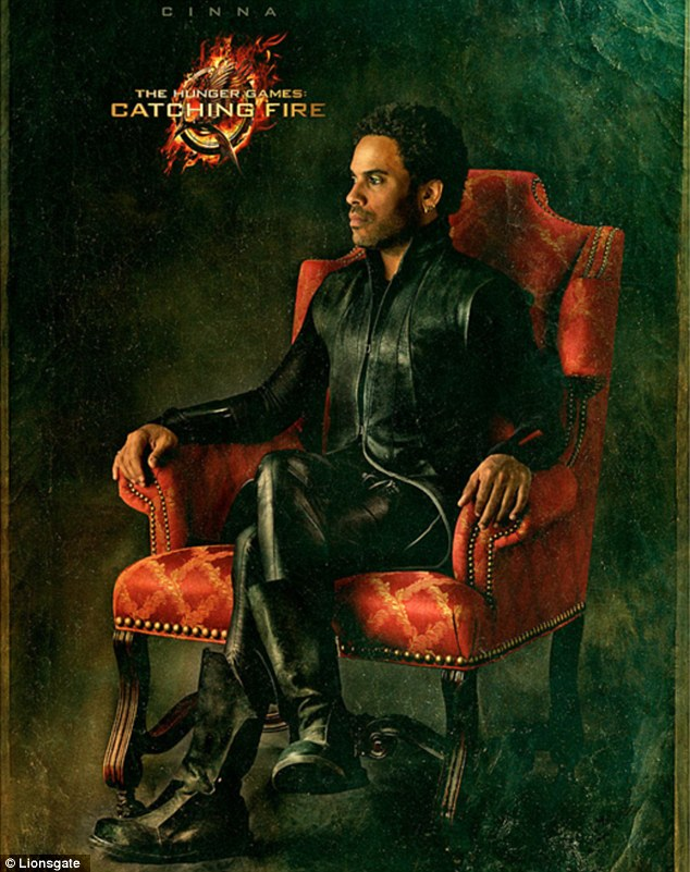 Lenny Kravitz in 'Catching Fire'