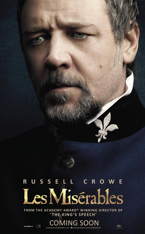 Russell Crowe in 'Les Miserables'