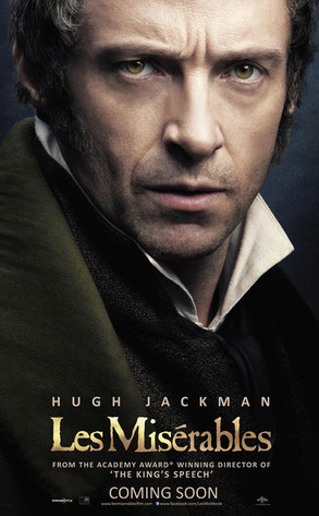 Hugh Jackman in 'Les Miserables'