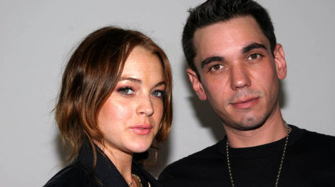 Lindsay Lohan and DJ AM