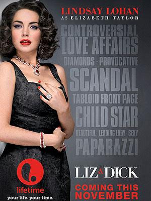 Lindsay Lohan in 'Liz & Dick'