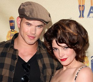 Ashley Green and Kellan Lutz