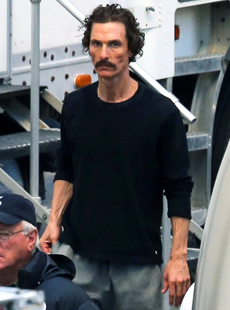 Matthew McConaughey in 'The Dallas Buyers Club'