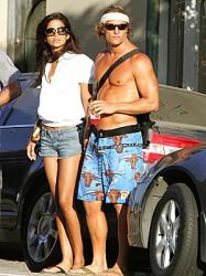 Matthew McCoaughey and Camila Alves