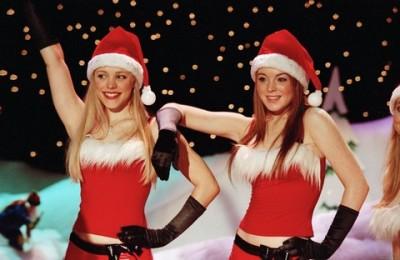 Rachel McAdams and Lindsay Lohan in Mean Girls