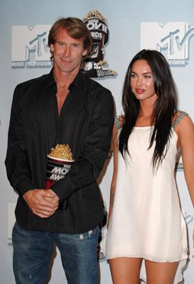 Michael Bay and Megan Fox
