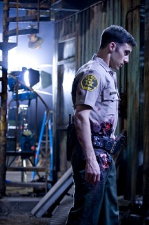 Milo Ventimiglia as Officer Eckhart in Armored