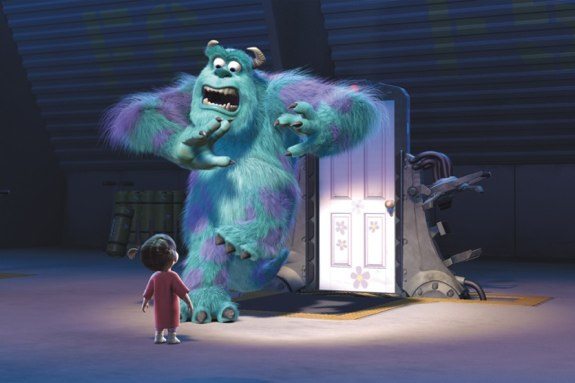 monsters inc boo. Monsters Inc Blu-ray review