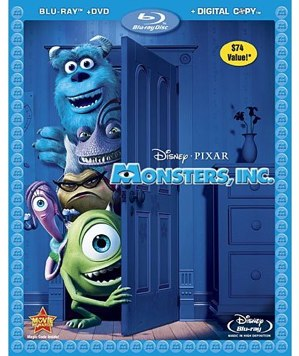 Monsters Inc Blu-ray review