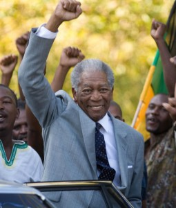 Morgan Freeman in Invictus
