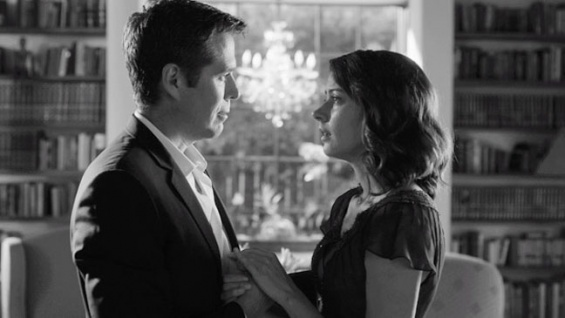 Alexis Denisof and Amy Acker in 'Much Ado About Nothing'