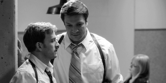 Tom Lenk and Nathan Fillion in 'Much Ado About Nothing'