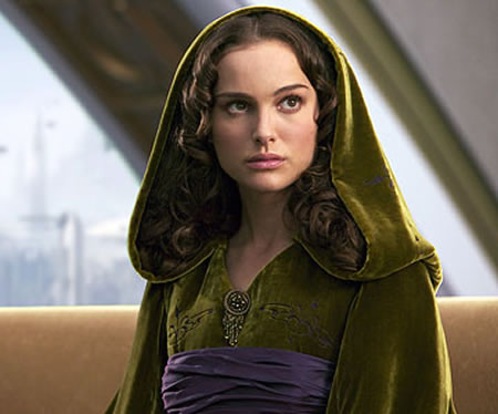 "Natalie Portman in Star Wars. ""My acting was not exactly respected in those"
