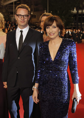 Nicolas Winding Refn with Kristin Scott Thomas