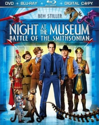 Night at the Museum: Battle of the Smithsonian Blu-ray