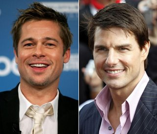 Brad Pitt and Tom Cruise