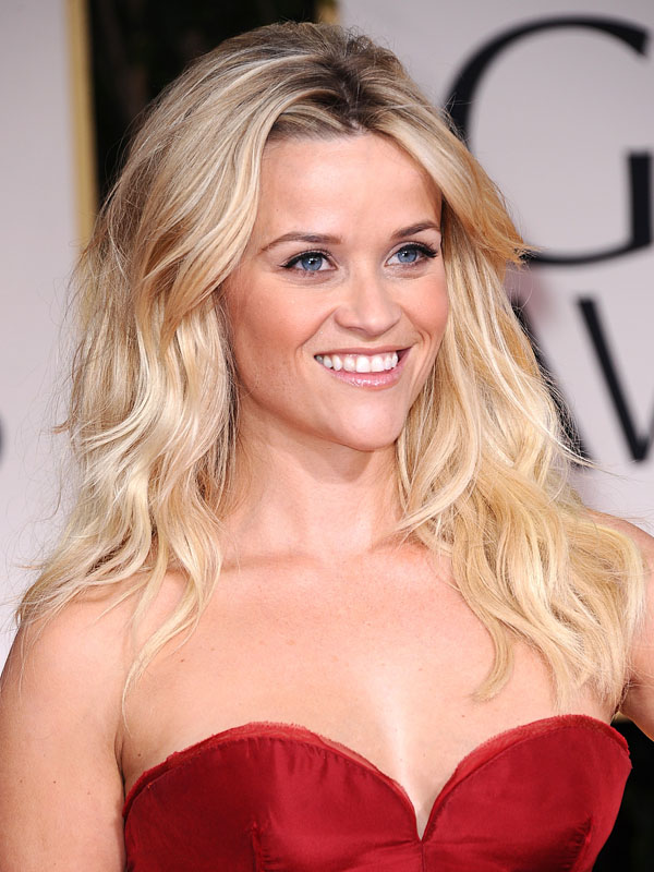 Reese Witherspoon at this year's Golden Globes