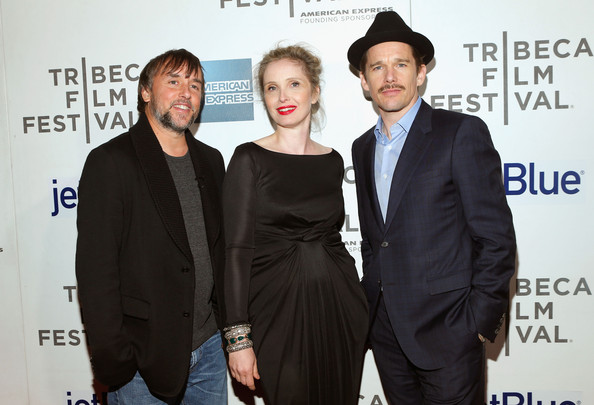 Richard Linklater, Julie Delpy, and Ethan Hawke