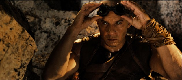 Vin Diesel as 'Riddick'