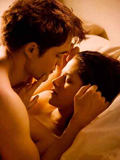 Robert Pattinson Scared of Sex Scene