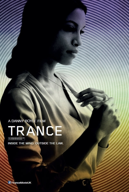 Rosario Dawson on the poster for 'Trance'