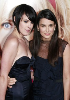 Rumer Willis and mother Demi Moore