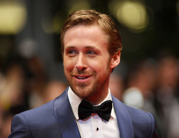 Ryan Gosling at the premiere of Drive