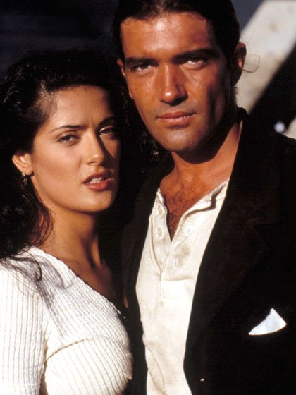 Salma Hayek and Antonio Banderas in 'Desperado'