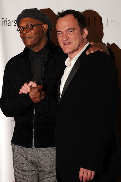 Samuel L. Jackson and Quentin Tarantino