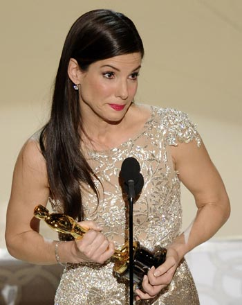 Sandra Bullock at the 2010 Oscars
