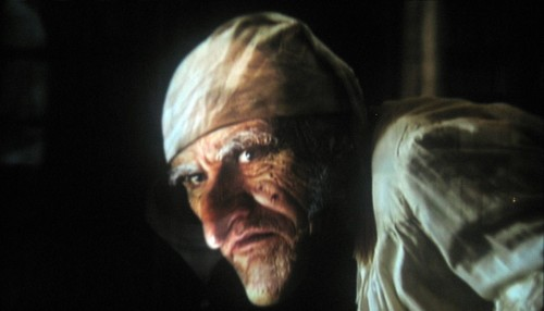 Jim Carrey as Scrooge