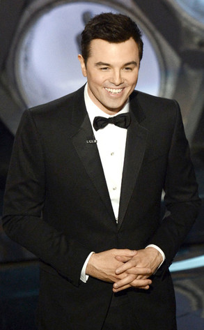 Seth MacFarlane hosting the 2013 Oscars