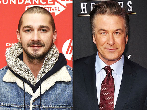 Shia LaBeouf and Alec Baldwin