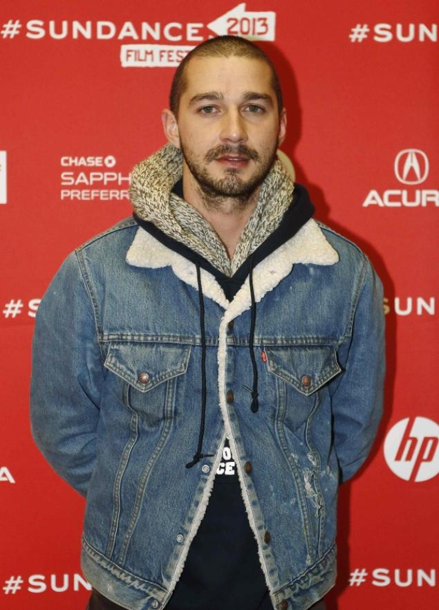 Shia LaBeouf at this year's Sundance Film Festival