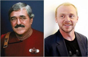 Star Trek's Scotty, Simon Pegg